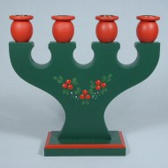 holly-candle-holder